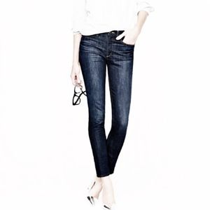 J. Crew Toothpick Ankle Jeans 28